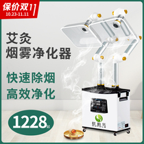 Acupuncture smoke purifier smoking exhaust machine home mobile exhaust Ai Acupuncture smoke system health hall
