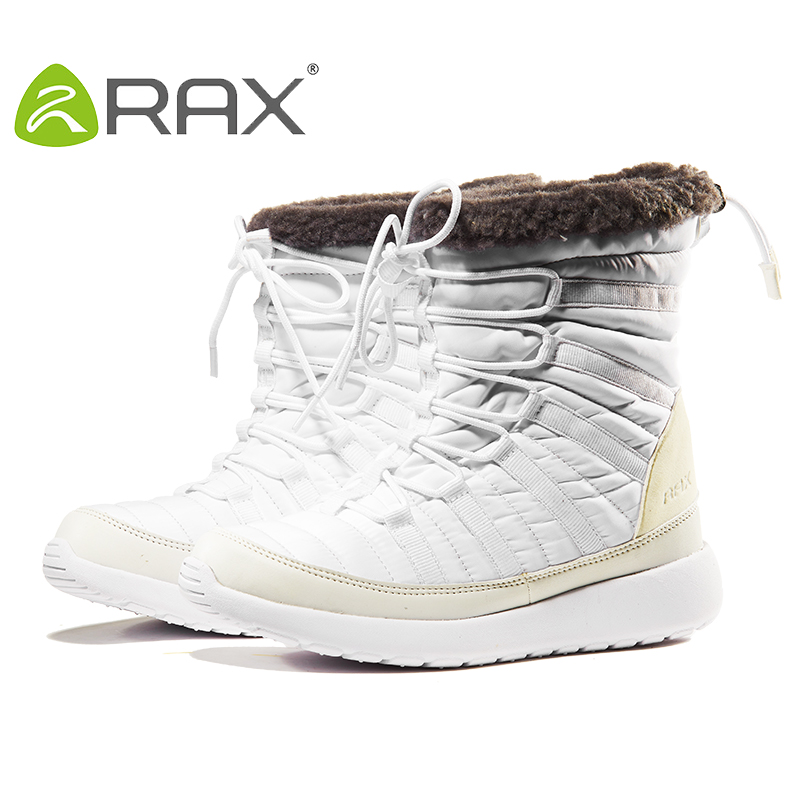 RAX Snow Boots Warm and Cold-proof Shoes Wear-resistant Ski Shoes Plush and Thicker Snow Shoes Mountaineering Shoes