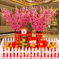 Spring Festival Mall decoration ride cannon hanging cannon firecrackers decoration New Year Decoration Spring Day window Layout annual goods