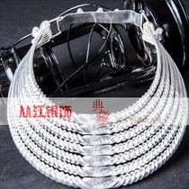 From Jiang Ban the Miao Dong Silver jewelry minority Headwear Seven layers silver collar Guizhou Guangxi Miao Headwear