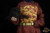 (Han Jianzhang) «Mingchu Wu fil» fil de lin noir ming début wu fil chapeau suspendu pieds fils noirs