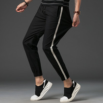 Korean version of the trend of ulzzang teen beam foot pants