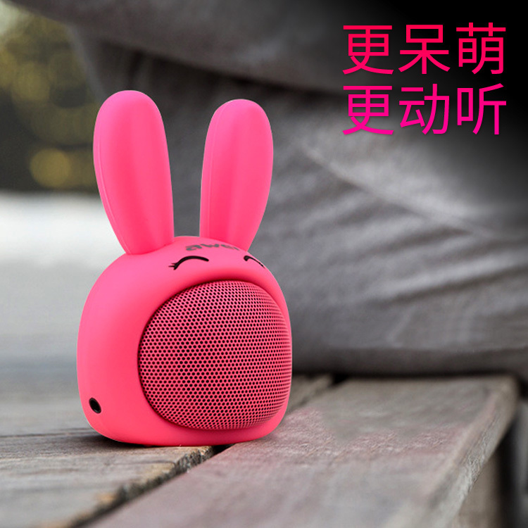 Small audio mini portable cute bluetooth speaker mobile phone outside wireless oppo universal cartoon subwoofer female