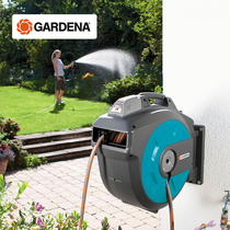 Red Dot Award! Germany imports Gardena Jiayi Home horticultural watering flower car wash automatic Recycling pipe truck