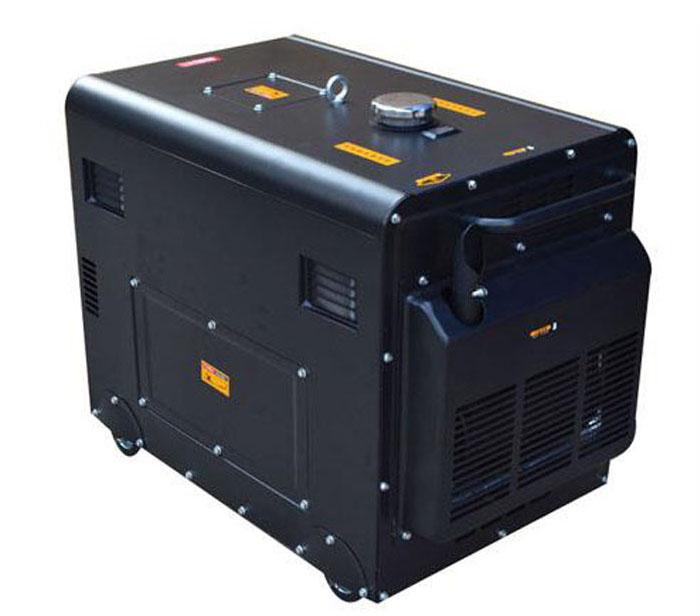 Silent diesel generator set 5kw6kw8kw small household generator 220V three-phase 380V6 kW