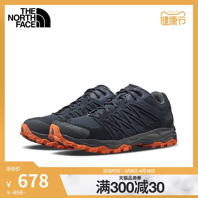 (Classic) The North Face North Hiking Shoes Mens Outdoor Scratch Wear On The New) 3V1F