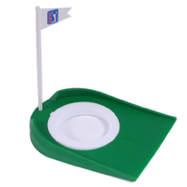 Putter Actuator Putter Plate hole with flag adjustable cup hole golf practice supplies