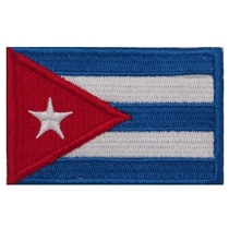 Cuban flag armband/cloth sticker/clothing sticker/embroidery label/cloth label/custom-made/magic sticker