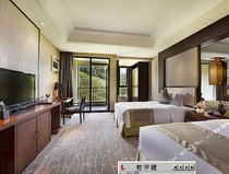 Qiandaohu five-star hotel run and Jianguo Resort Conference &  Exhibition Reservation Deluxe Garden view Twin bed