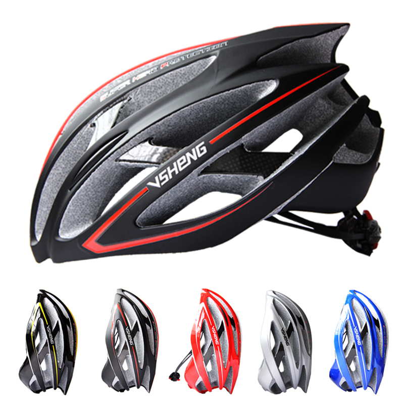 For the carbon fiber bicycle mountain bike riding helmet Large size one molding equipment VSHENG-V300