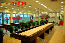 Genuine solid wood imported maple sand Fox table sand kettle Ball Sand Fox Ball Desk family unit Clubhouse Leisure
