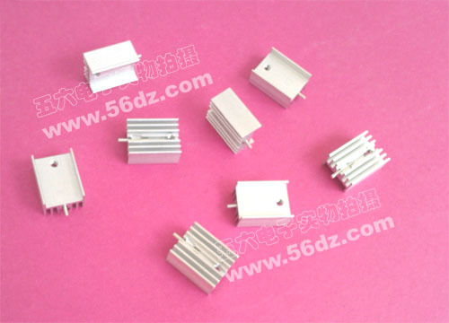 Heat sink 21*15*10MM (with pin) for TO-220 package components
