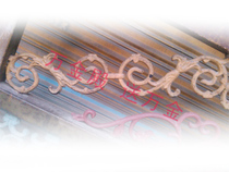 European iron gate casting railing staircase window flowers iron frame pig flower decorative metal material supply