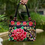 The new Korean version of the women's satchel cloth embroidery bags cute multi-purpose handbag bag 2017 large capacity