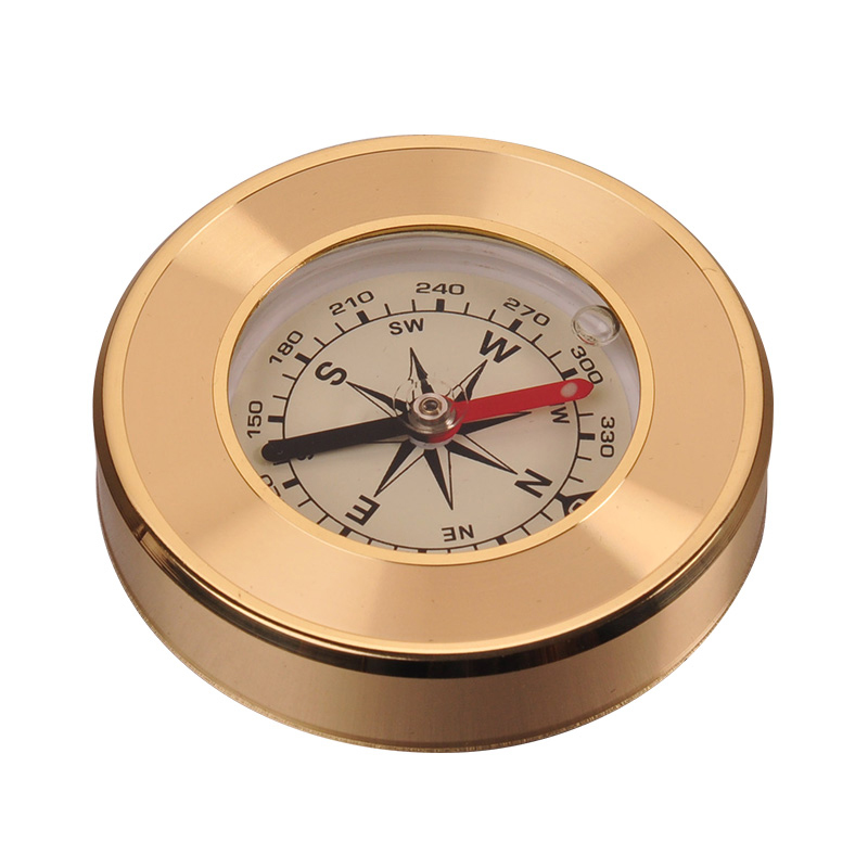 Copper Copper Compass Army Genuine Outer North Orienteering Compass Car Navigation Accurate
