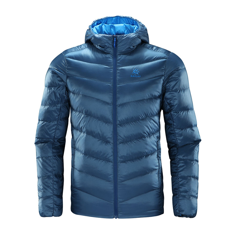 KAILAS/Kellerstone Men's Winter Windbreak Warm and Air-permeable Light Ribbon Down Jacket KG310065