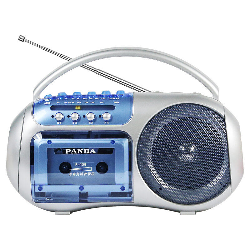 PANDA/Panda F-138 Repeater Primary School Junior High School Tape Recorder English Learning Radio Recorder