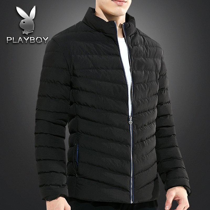 Playboy winter cotton jacket for boys and teenagers