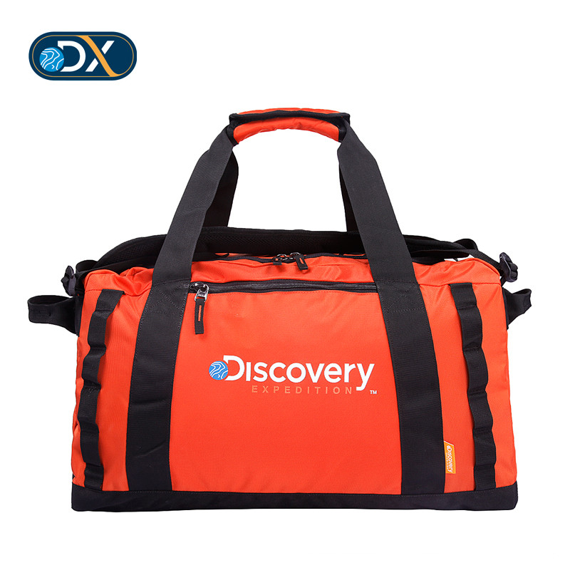 [清]Discovery 行李 bag bag for men and women 50L large capacity portable light travel portable shoulder bag