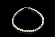 Korean pearl Tiara Necklace Jewelry bride marriage yarn accessories pearl necklace wedding dress