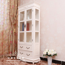 Modern simple side cabinets display cabinets bookcase Idyllic Korean European wine Cabinet partition Glass Wine cabinet Decorative Cabinets