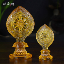 Tibetan Buddhism Supplies Ancient Law Glass Falun Buddhism Religious Offerings Seven Politics Tantric Buddhism Falun Decoration