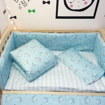 Best selling cotton active 133*72 infant and child set bed linen bed surrounding can be custom-made size