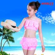 2017 summer children swimsuit girls girls swimwear bikinis suit baby body small children swimming trunks