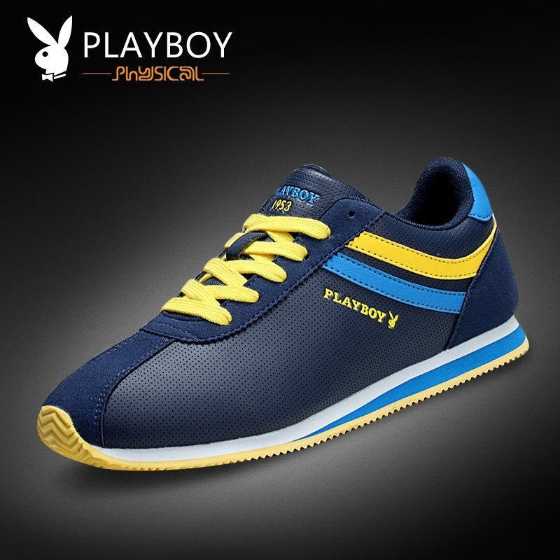 Playboy Men's Shoes Spring New Men's Sports Leisure Shoes Korean Tide Shoes Sports Board Shoes Men's Travel Shoes