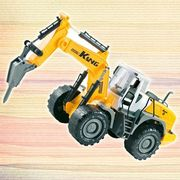 Hot baby glide engineering car, earth drill, excavator, wrestling model, inertia, large children's toy car