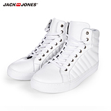 Jackjones leather men's high top sneakers