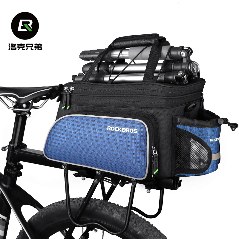Locke Brothers Bicycle Back Rack Mountains Bicycle Backpack Tail Pack Front and Back Saddle Pack Cycling Parts