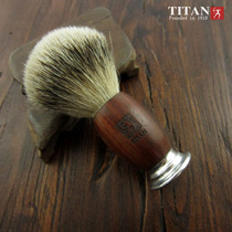 Vigorous man handmade silver pointy road badger hairy blood wood aluminum head beard Brush hu Brush sweep shaving brush Sweep