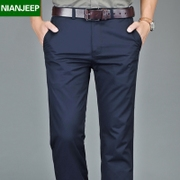 NIAN JEEP men's trousers thin summer business casual pants men's trousers straight loose cotton male pants