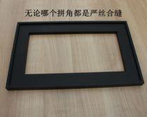 Asian black aluminum frame door custom book cabinet door aluminum door wine cabinet door glass door mirror box kitchen cabinet door