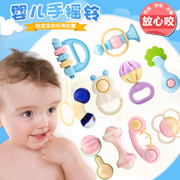 Rattle Baby Toy 0-3-6-12 months baby boys and girls 4 1 year old newborn children dental adhesive puzzle 5