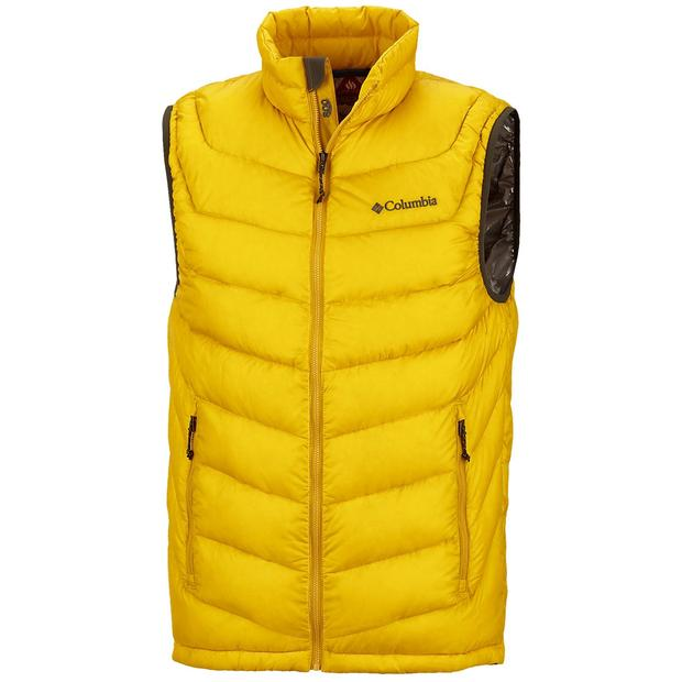 [The goods stop production and no stock][The goods stop production and no stock]Spot Colombia Columbia male 800 Peng down vest vest heat reflection WM1472 S M small size