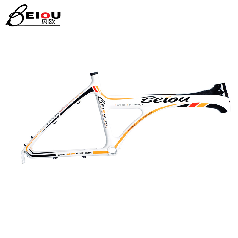 Beiou carbon fiber scooter frame bicycle accessories leisure car frame 20 inch bo-b002