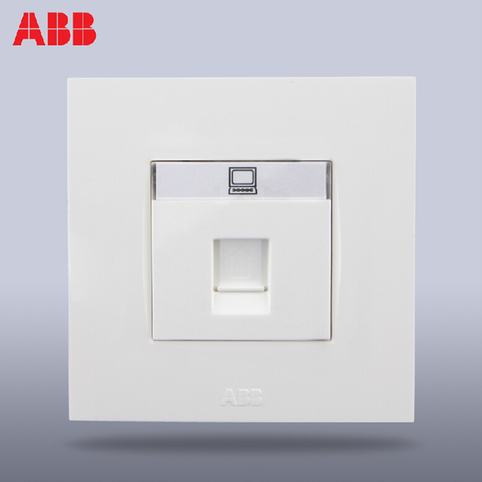 ABB power switch socket panel/YBIT/computer information socket interface AU33144-WW