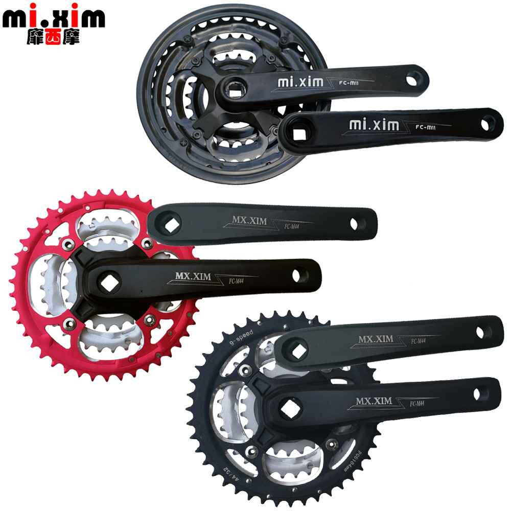 Bicycle mountain bike aluminum alloy 42 teeth 44 teeth 7/8/9/21/24/27 speed sprocket wheel big toothed disk big fly