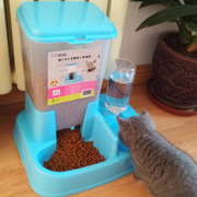 The cat activities automatic feeding device of double bowl bowl bowl of dog dog cat autodrinker pet cat dog bowl