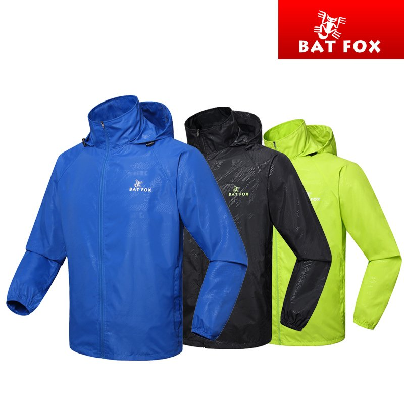 BATFOX BATFOX BATFOX BATFOX NEW TYPE OF AUTUMN AND WINTER OUTDOOR CYCLE WIND CLOTHER AND HOOD BICYCLE CLOTHER