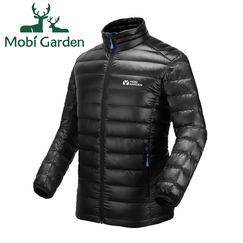 Mu Gaodi outdoor thin men and women new short warm warm down jacket down jacket