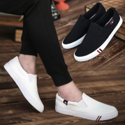 In the summer of 2017 new men's canvas shoes trend of Korean men's casual shoes casual shoes shoes pedal lazy tide