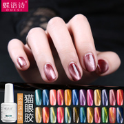 The cat's Eye Gel Nail Polish Manicure Cutex nail polish color phototherapy magnet 3D sky jade eye gel wholesale authentic