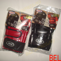 Bel Bowling Supplies ABS brand professional bowling short wristband red black