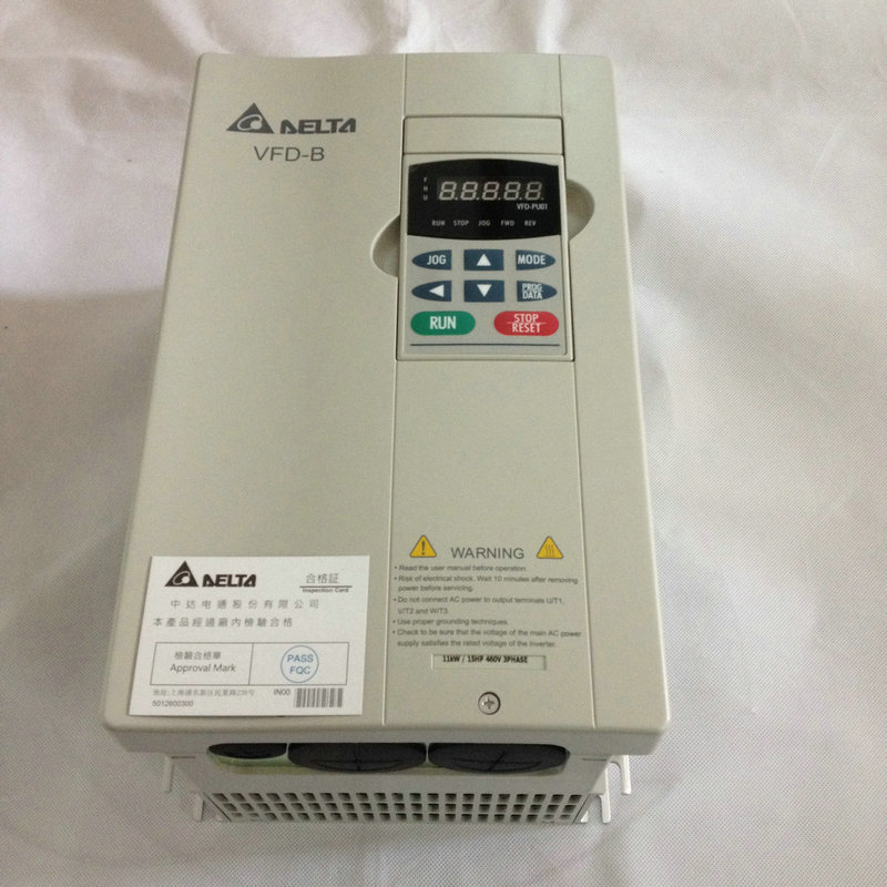 Vector Delta Inverter VFD015B21A 1.5kw Single Phase 220V Can be added