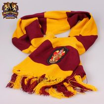 Harry Potter (special offer every day) genuine thick striped scarf badge Gryffindor suit film surrounding