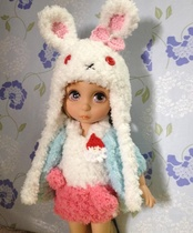 Rabbit Salon doll hat available in two styles. Other sizes can be customized