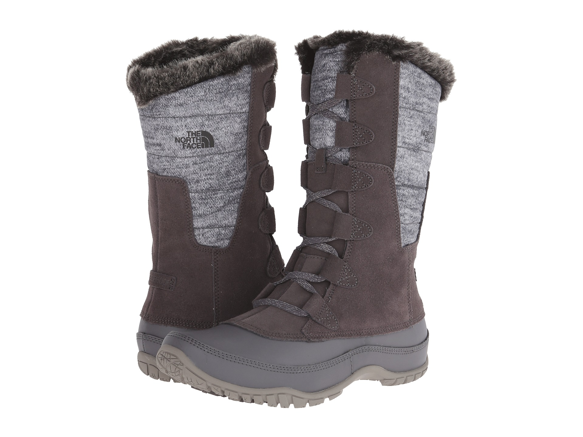 434cbd83f American genuine purchasing TheNorthFace north face ladies waterproof  leather plush collar snow boots Nuptse